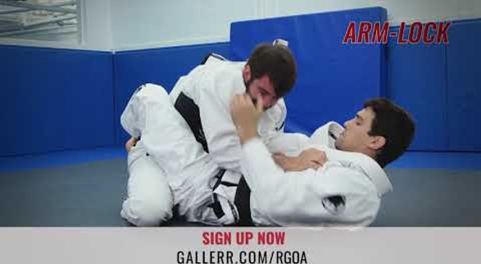 Robsinho Gracie teaches submissions with the lapel