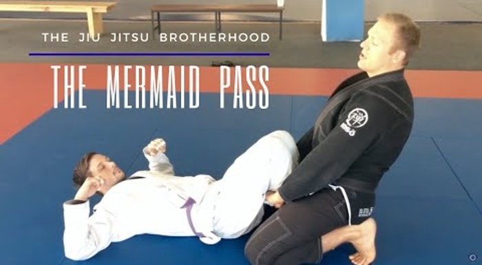 Get to know the mermaid guard pass to enrich your BJJ