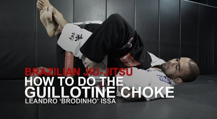 BJJ: 7 steps to apply an irresistible guillotine