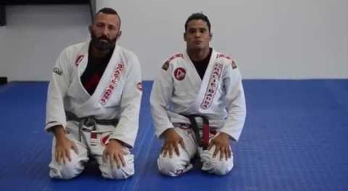 Brazilian Jiu-Jitsu lesson: De La Riva guard pass