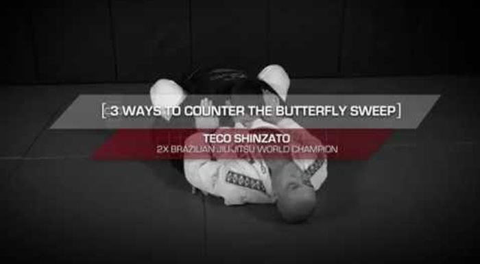 3 ways to foil the sweep from the butterfly guard in BJJ