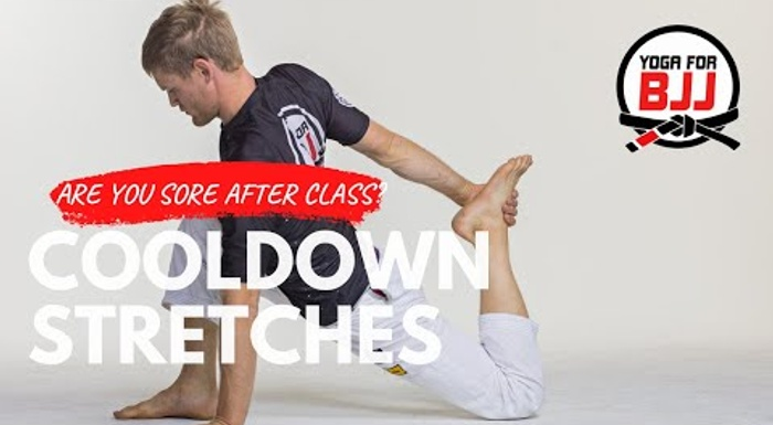 5 stretches for after a BJJ training session