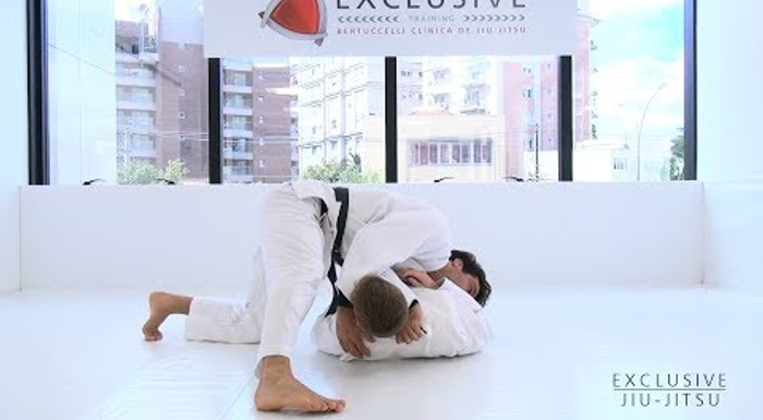 BJJ: Learn from Gregor Gracie a powerful cross choke from the north–south position