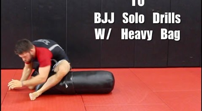10 drills to help you exercise on your own and improve your BJJ skills