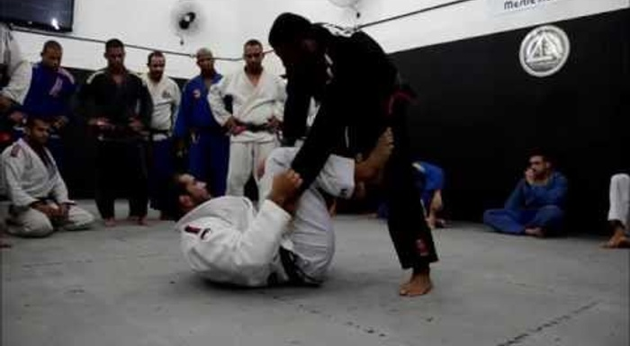 A BJJ lesson with Rodolfo Vieira and Leandro Lo