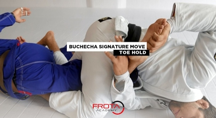 BJJ: Marcus Buchecha breaks down a toe hold from the X-guard
