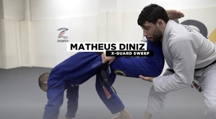 BJJ: Matheus Diniz teaches an X-guard sweep to take the back