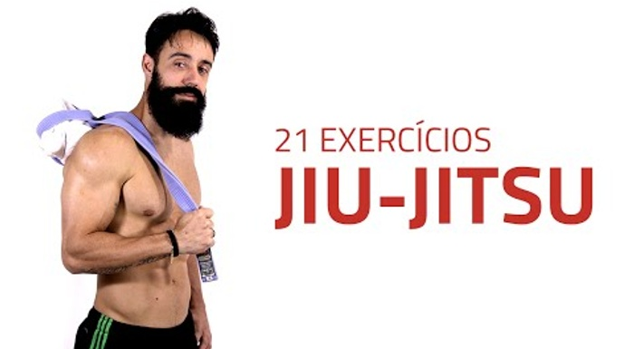 21 body-weight exercises based on BJJ movement