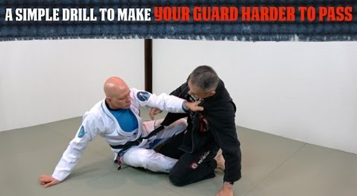 A simple drill to make your guard much harder to pass in BJJ