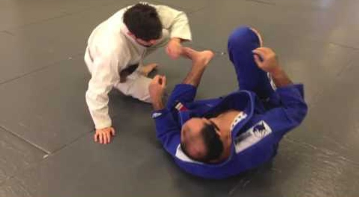"BJJ lesson: Bernardo Faria teaches half-guard sweep dubbed ""last chance"""
