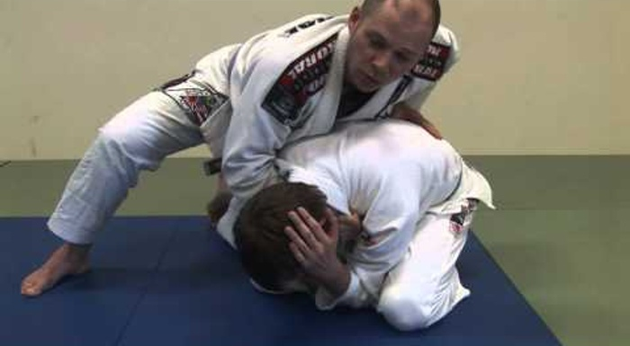 BJJ: Learn a take on the clock choke and surprise your opponent