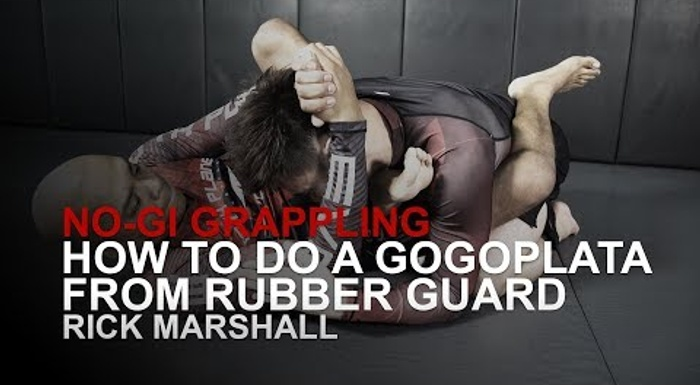 BJJ: Learn how to apply the gogoplata from the rubber guard