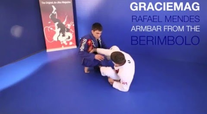 Rafael Mendes teaches armbar from the berimbolo