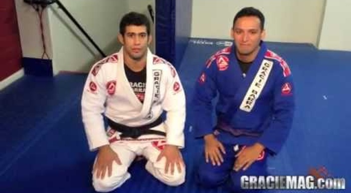 Brazilian Jiu-Jitsu lesson: Otávio Sousa teaches a wrist lock attack from the back