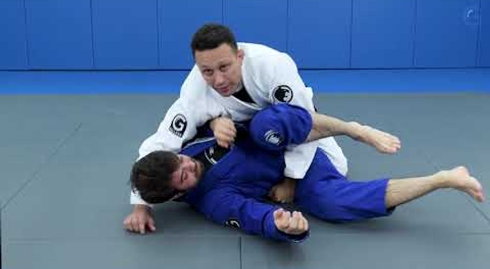 Renzo Gracie's old-school guard pass