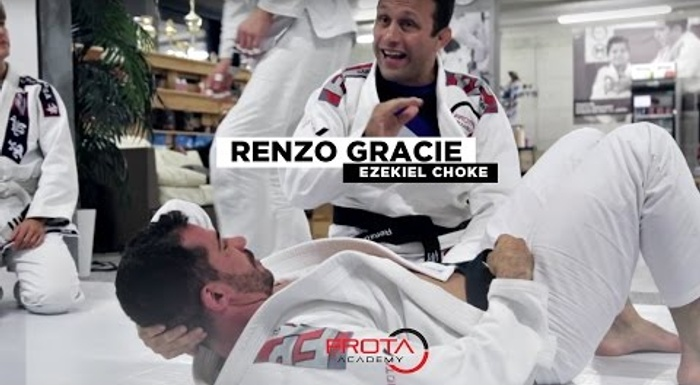 The efficiency of the ezekiel choke in BJJ, with Renzo Gracie