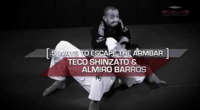 5 ways to escape the armbar in BJJ