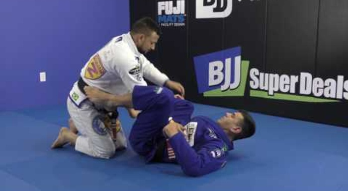 BJJ: Rodrigo Cavaca shows 3 attacks to use when your foe stands up in your closed guard