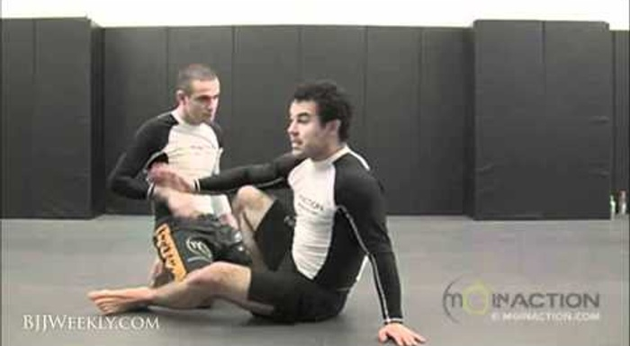 Marcelo Garcia's modified double attack for no-gi BJJ