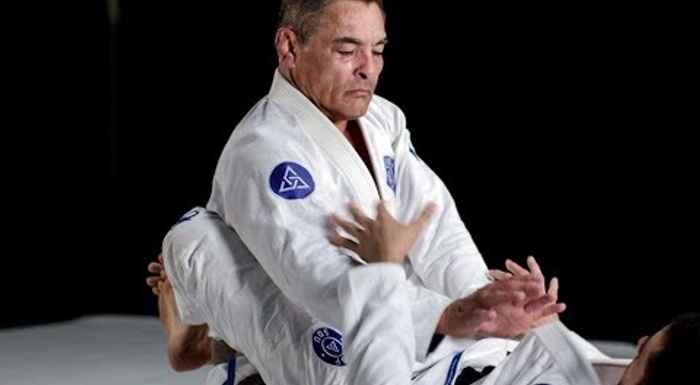 Rickson Gracie teaches the basic guard pass