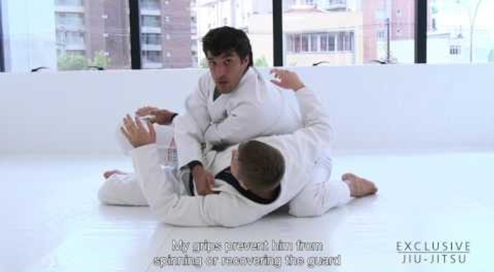 BJJ: Gregor Gracie shows a leg-dragging pass to surprise the sweeper