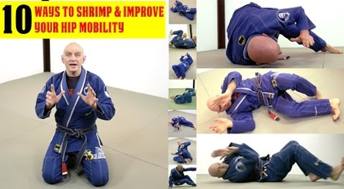 BJJ: 10 ways to shrimp and improve hip mobility on the ground