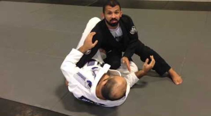 BJJ lesson: Surprise a bigger opponent with this sweep shown by Bruno Malfacine