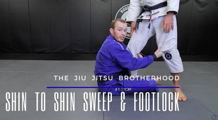 Brazilian Jiu-Jitsu lesson: Learn a foot lock starting from the shin-to-shin guard
