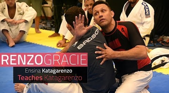 "BJJ: Learn the details of the ""katagarenzo"" from its creator, Renzo Gracie"