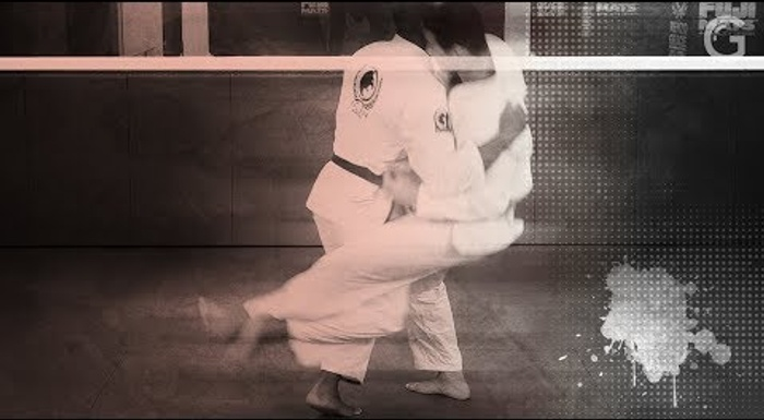 Take 'em down with the ouchi gari mechanic