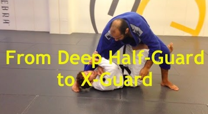 Brazilian Jiu-Jitsu lesson: Deep half-guard to X-guard with Jonathan Satava