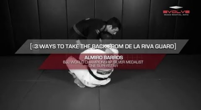 BJJ: 3 ways of taking the back from the de la Riva guard