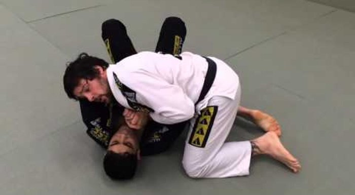 BJJ lesson: Tarsis Humphreys -- repel the kimura trap and finish on the armbar