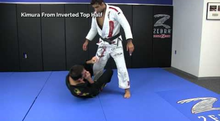 BJJ: Learn Leandro Lo's deadly kimura from half-guard