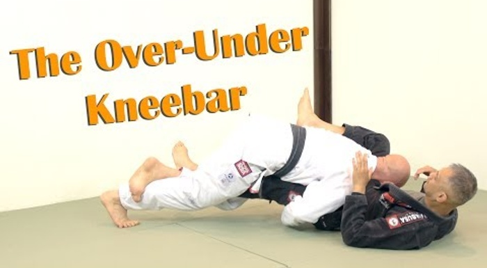 BJJ: Finish with a sneaky knee bar playing on top on half-guard