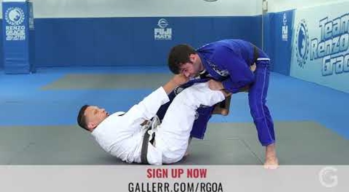 Renzo Gracie and the lob sweep from the DLR