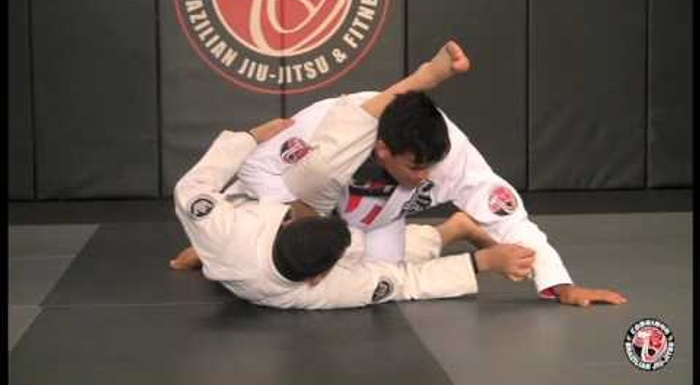BJJ lesson: Charles Cobrinha -- stack pass to back control ending on the zipper choke
