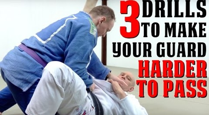 BJJ: 3 drills to make your guard harder to pass