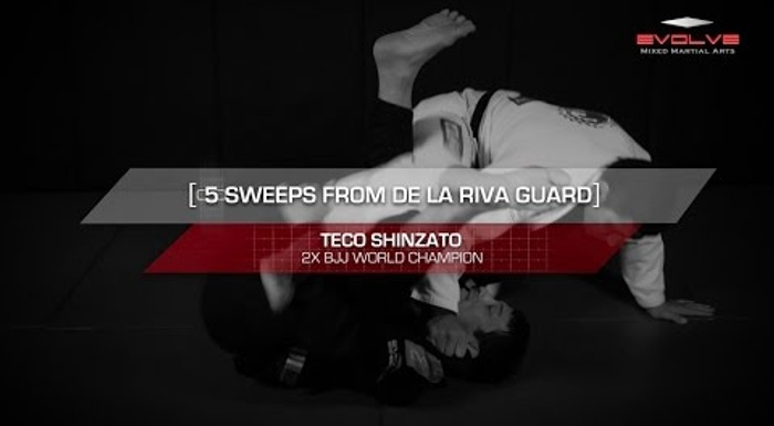 BJJ fundamentals: 5 essential De la Riva sweeps