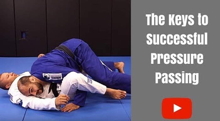 BJJ: Bernardo Faria teaches the concepts of pressure passing