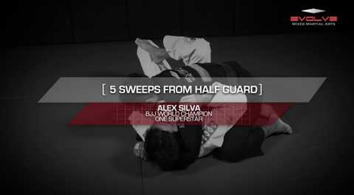 BJJ fundamentals: 5 essential half-guard sweeps