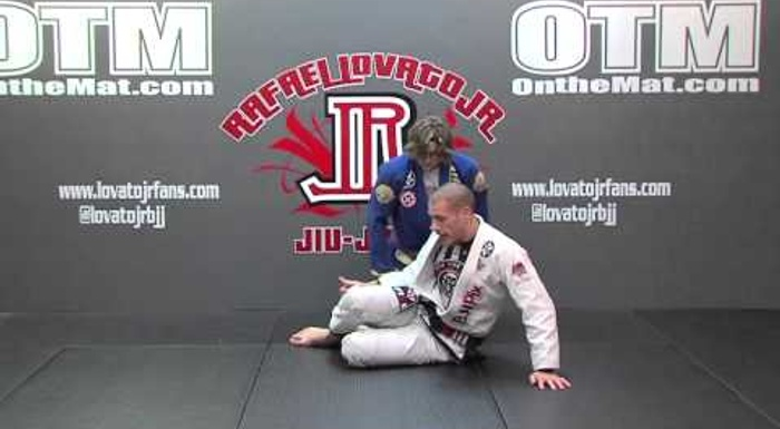 BJJ lesson: Rafael Lovato Jr. teaches a cross-collar hook sweep