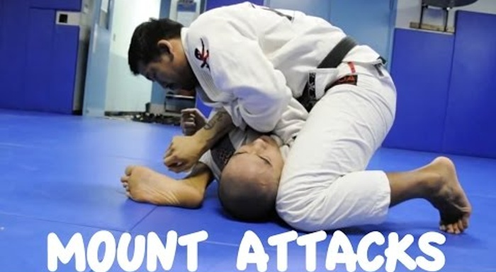 4 attacks from the mount to turbocharge your BJJ
