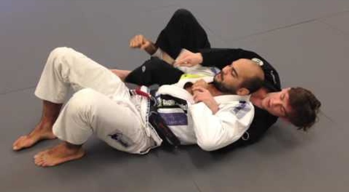 Learn to set up the crucifix in BJJ