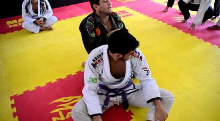 BJJ lesson: Learn how to control the back-take and don't let the position slip