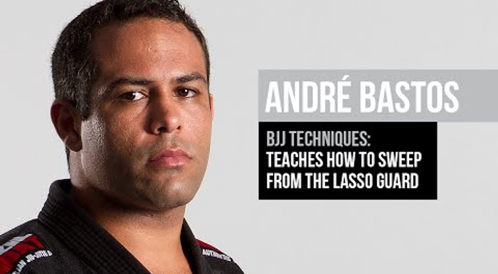BJJ techniques: André Bastos teaches how to sweep starting from the lasso guard