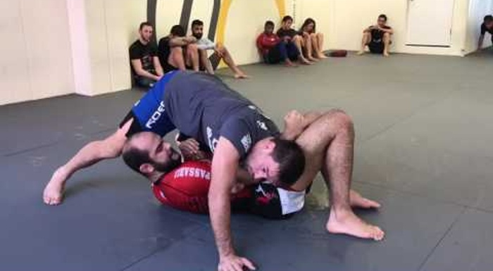 Demian Maia -- an armbar from side control for no-gi BJJ