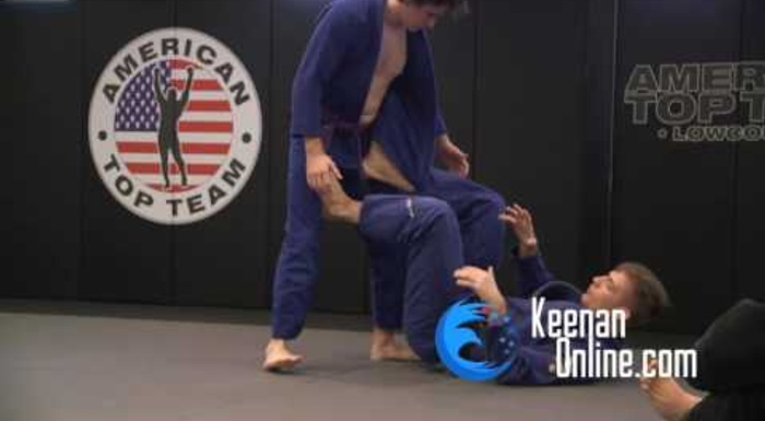 BJJ: Keenan Cornelius discusses the concepts and shows how to use the worm guard