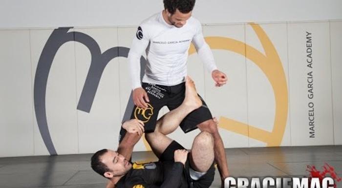 Marcelo Garcia teaches a no-gi X-guard sweep