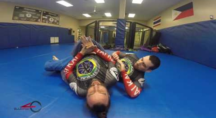 BJJ: Escape the back-take with this sneaky foot lock